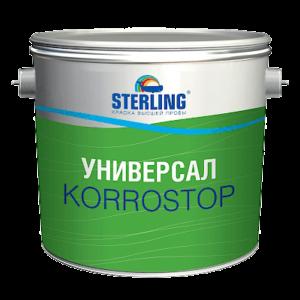 STERLING Универсал КОРРОСТОП грунт-краска по металлу (ПФ-118)